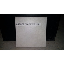 Cerámica Cronos Tiza 30x30 - 1ra. Cerro Negro (caja Cerrada)