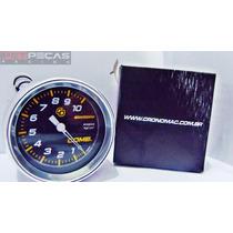 Manômetro Pressão De Combustivel 10bar 60mm Mod Carbono !!