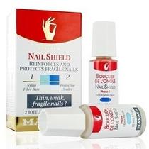 Fortalecedor De Unhas Nail Shield 10ml (2 Unid. De 5ml Cada)