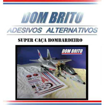 Adesivos Para O Super Caça Bombardeiro Do Comandos Em Ação