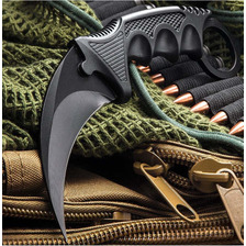 Cuchillo Kerambit Tactico Counter Strike Black Csgo Honshu
