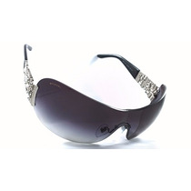Gafas Lentes De Sol Original Dama Bvlgari Bv6071b 57mm Negro