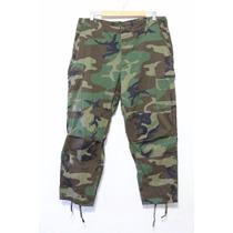 Pantalón Militar Camu Americano Tactico Profesional Camuflaj
