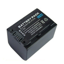 Bateria 6 Horas De Filmagem Np-fv100 P/ Sony Hdr-pj200 Pj10