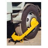 Trava Roda Controle De Carga E Descarga Caminhões