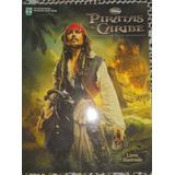Álbum Llivro Ilustrado Piratas Do Caribe Vazio