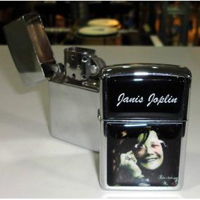 Janis Joplin - Isqueiro Cromado