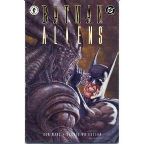 Hq - Batman X Aliens - Canadá/usa - Capa Cartão Nova