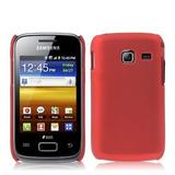 Capa Case Capinha Samsung Galaxy Y Duos Vermelho Young S6102