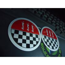 Emblema Ford Corcel Gt Calotinha Da Roda Gt