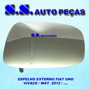 Espelho Retrovisor Uno Vivace Way 2011 À 13 Metagal Direito