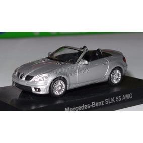 1:64 Mercedes Benz Slk 55 Amg Plata Kyosho
