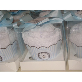 Lembrancinhas Cupcake Toalha - Wrapper Personalizado