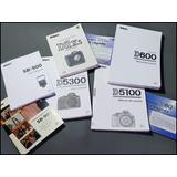 A64 Manuales Español Ingles Para Nikon Camaras - Flash