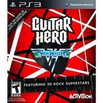Jogo Guitarra Guitar Hero Van Halen Playstation Ps3 Lacrado