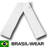 Calça Capoeira Abada Branco Gratis Sr. Bonfim Yoga Salsa Axe