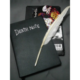 Kit Caderno Death Note + Caneta Pena + Cd - Mercado Envios!!