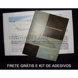 Manual Do Proprietário Fusca 1966 + Adesivos + Frete Grátis
