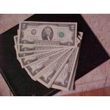 Cedula De Dois Dolares / Two Dollar Bill / Nota De 2 Dolar