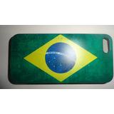 Capa Case Iphone 5g Bandeira Do Brasil