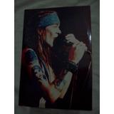 Foto Axl Rose Guns N`roses