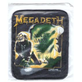 Patch Estampado - Megadeth - Mary Jane (2) - Importado