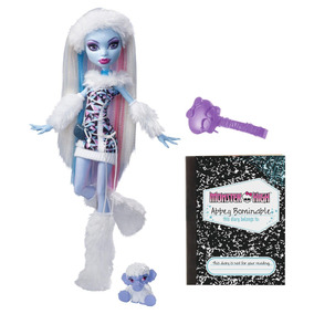 Muñeca Abbey Bominable Monster High Stardoll Mattel 1a Edic