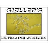 Led 5mm Pisca Pisca Vermelho- 20 Pç=25 Reais- Simula Alarmes