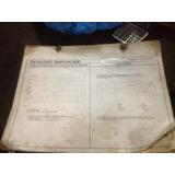 Catalogo Simplicado Vw Passat Original Mecânica Motor Etc