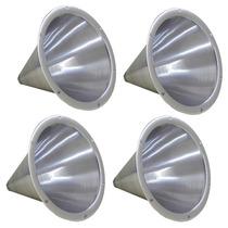 4 Cone De Aluminio Jarrão - Rosca Corneta Drive D200 D250x