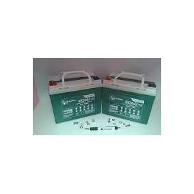 Kit 2 Bateria Ortomix Cadeira De Roda Elétrica Zenith-wl4025