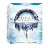 Stargate Atlantis: A Série Completa - Blu Ray - Importado