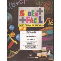 Enciclopédia Saber + Fácil Com Caderno De Exercícios