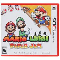 Videojuego Mario & Luigi Paper Jam Nintendo 3ds Gamer