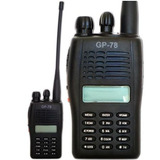 Radio Ht Gp 78 Gp-78 Elite Vhf Novo Na Caixa Fone De Brinde