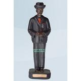 Escultura Zé Pretinho 20cm Altura Zé Pilintra Umbanda