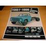 Folder Ford Caminhao F-11000 80 1980 81 1981 82 1982 Diesel