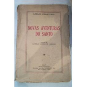 Novas Aventuras Do Santo Leslie Charteris T. Marcelo Andrade