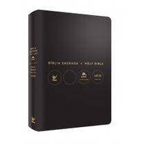 Bíblia Nvi Bilíngue Português-inglês - Preta Letras Douradas