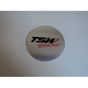 Emblema Tsw Para Roda Esportiva 55mm