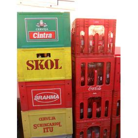 Engradado De Cerveja Varias Marcas Vazias E Cheias (ap)