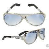 Elvis Presley *óculos De Sol Com Ep Na Frente E Tcb Ao Lado*