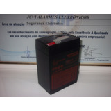Bateria 6v 4,5ah Moto Carrinho Elétrico Lanterna La645 Rl645