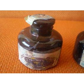 Vidro De Tinta Tinteiro Antigo Ainda Com Selo Marca Sardinha