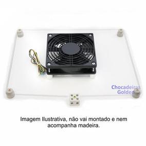 Kit Nº 2- Ventilação+resistencia P/chocadeira 100 A 200 Ovos