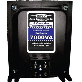 Auto Transformador Bivolt 7000va 110 220 Ou 220 110