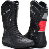 Bota Coturno Motorcycles Speed Low Couro Acero Unissex Moto