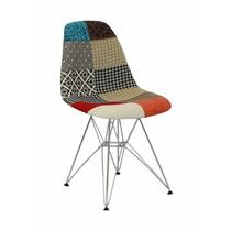 Cadeira Eiffel Patchwork - Sem Braço - Empório Country