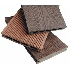 Piso exterior pisos de madera en mercado libre argentina for Aberturas de pvc simil madera precios