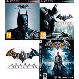 Batman Ps3 Arkham Collection | Digital Español 3 En 1!